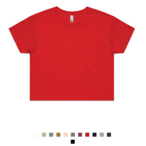 Promotional AS Colour Crop Tees