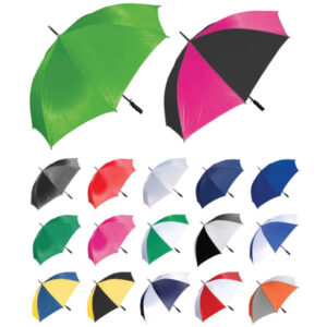 Branded Madrid Umbrellas